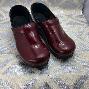 Red Dansko Shoes Size 41